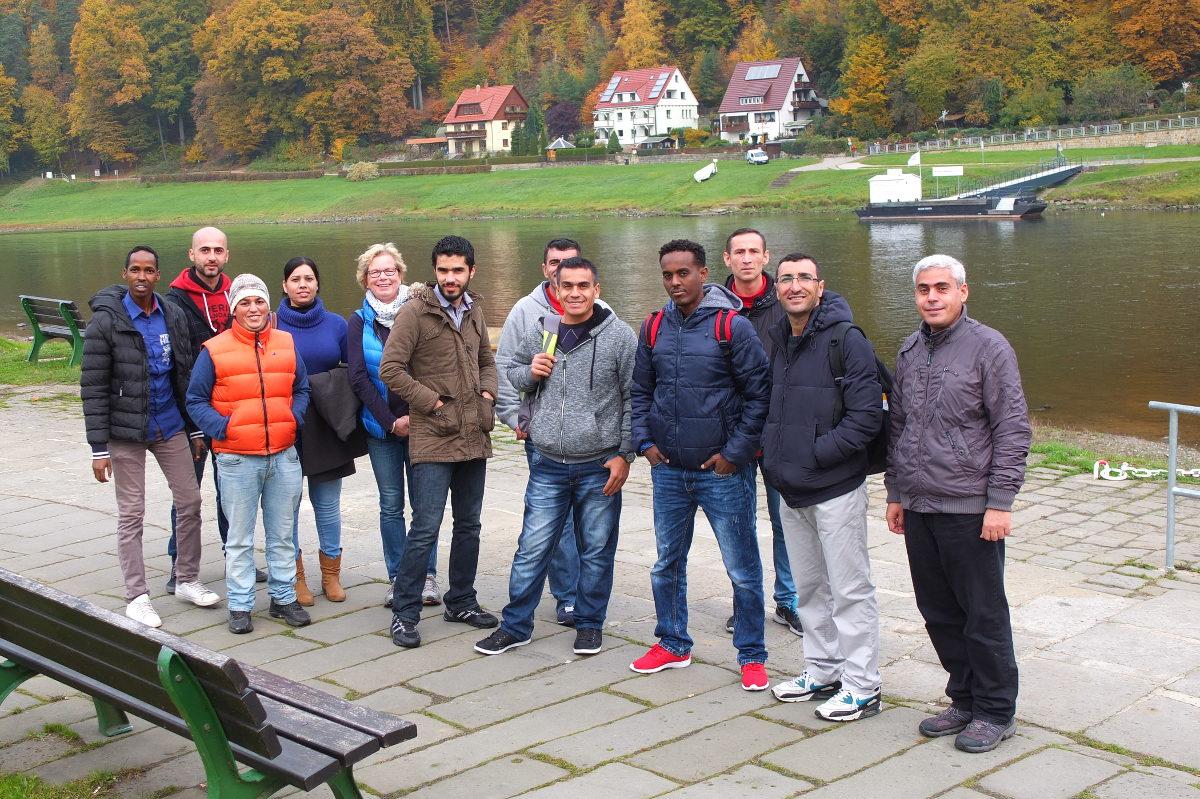 151027. Ausflug Schritte 1 Sächsische Schweiz bild1